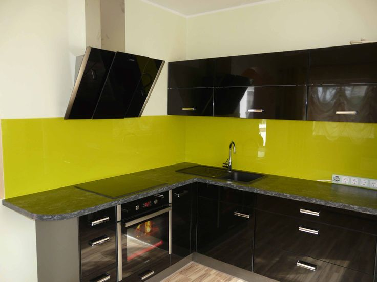 splashback for the kitchen yellow splashback for the kitchen yellow