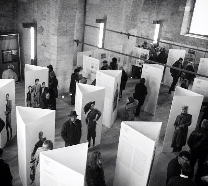 """Arsenale is the perfect location for exhibition, this was a """"Resistere senz'armi"""" Storie di Internati Militari Italiani nel Terzo Reich (1943-1945) - gennaio 2014 a cura di IVSER Venezia"""
