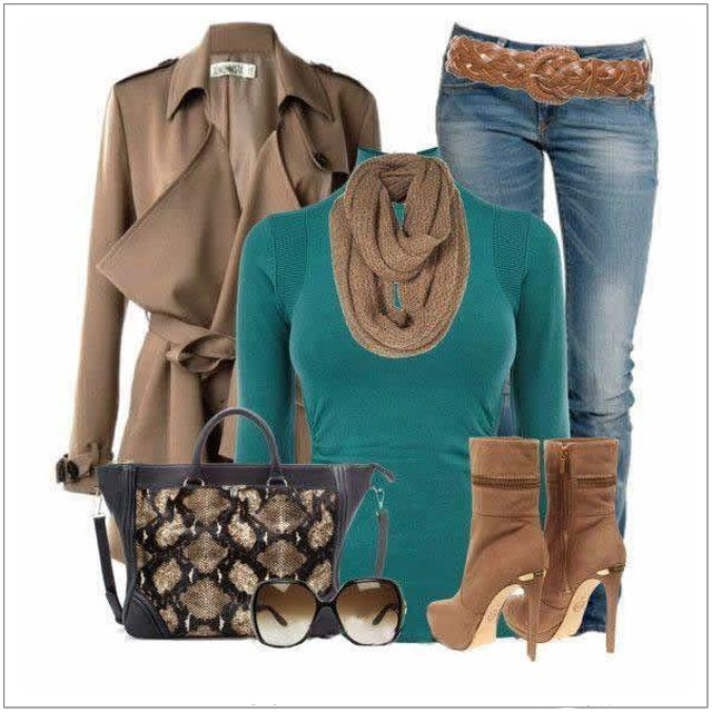 CHATA'S DAILY TIP: This is such a divine colour combination! A polo neck, in various colours, is such a good winter investment. You can dress it up, or down. Invest in a polo neck if you have a balanced to long neck; opt for a cowl neck if you have a short or wide neck. COPY CREDIT: Chata Romano Image Consultant, Liza Spammer http://chataromano.com/consultant/liza-spammer/IMAGE CREDIT: Pinterest