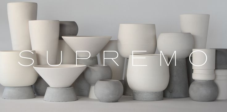 Supremo is a diverse selection of every-day-use objects based on the combination of white matte unglazed ceramic and grey velvet concrete. An exclusive and exciting range of beautiful elegance and playful eye-catchers. All items are designed and made by DECOVERY | essential details with quality materials and high manufacturing standards. The uncommon aesthetic of the collection offers unique contemporary feel to any space. EU delivery. www.decovery.gr