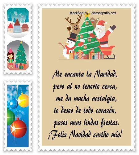 mensajes para enviar en Navidad a mi novia, poemas para enviar en Navidad a mi novia:  http://www.datosgratis.net/nuevos-mensajes-de-navidad-para-mi-novio/