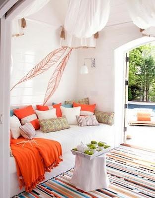 An indoor/outdoor room...great concept.