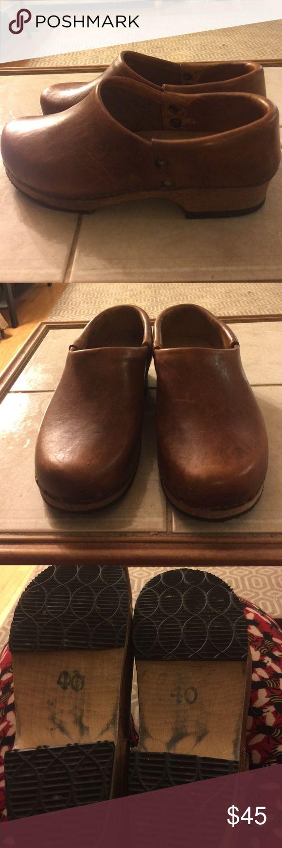 Clogs Gamm Vert Paris Clogs. Vintage. Gamm Vert Paris  Shoes Mules & Clogs