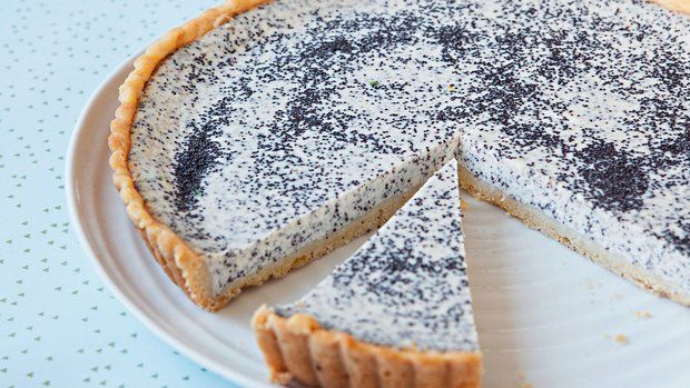 Francúzsky tvarohový koláč s makom