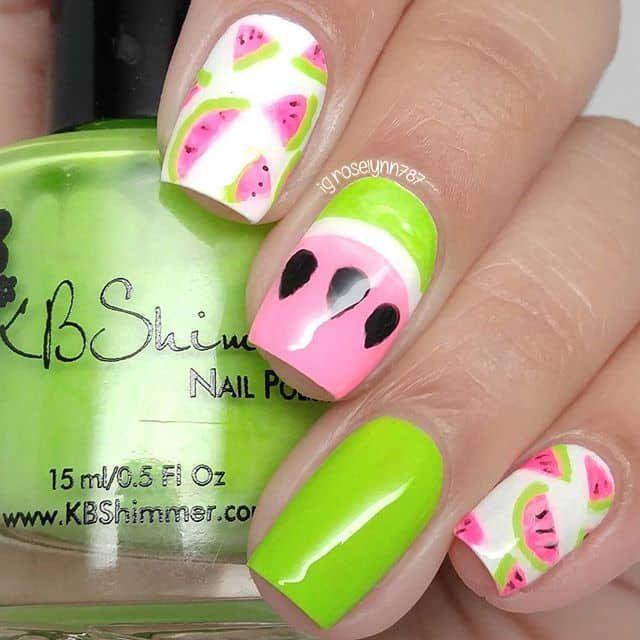 Mejores 134 imágenes de Spring Nails en Pinterest | Uñas para ...