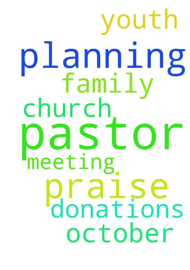 Praise the Lord pastor please pray for us we are planning - Praise the Lord pastor please pray for us we are planning to do youth meeting in October for that we need donations and church and also pray for my father and my family  Posted at: https://prayerrequest.com/t/y9o #pray #prayer #request #prayerrequest