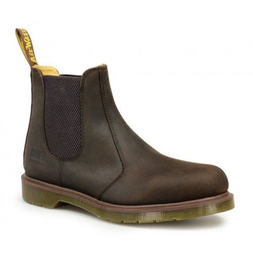 Dr Martens Occupational 8250 Mens Oily Leather Chelsea Dealer Boots Gaucho Brown | Boots | Men's Shoes - Zeppy.io