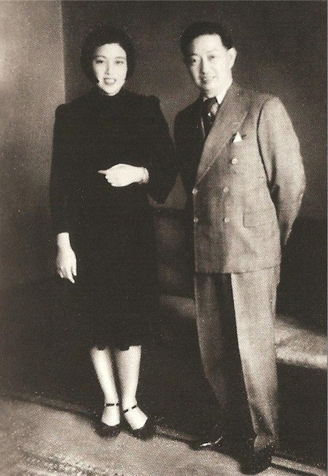 Seung Hee Choi and her husband Mak Ahn