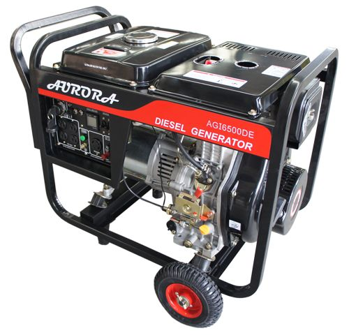 6500 Watt Portable Diesel Generator - Meets UL and CSA Standards - Only brand in North America with electrical approval !