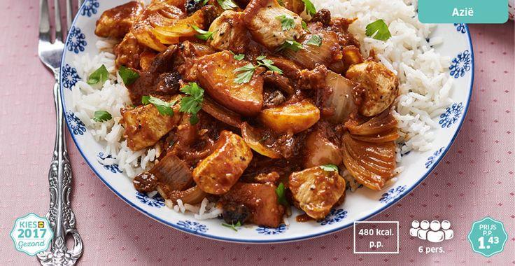 Kipcurry met rijst #kip #Lidl #kiesgezond