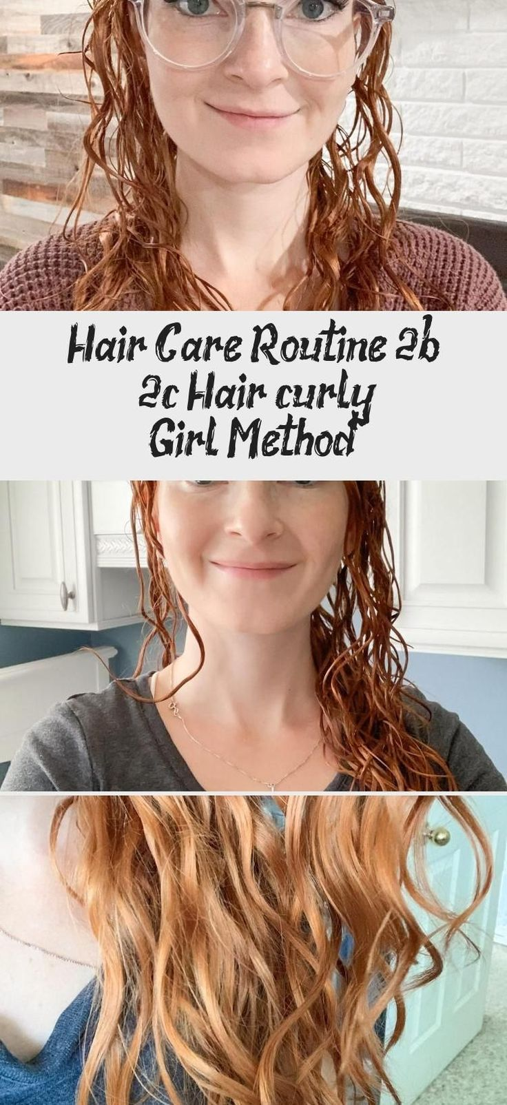 Hair care routine 2b 2c Hair (curly girl method