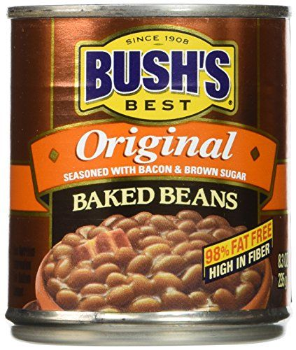 Bushs Best Baked Beans Original Seasoned with Bacon  Brown Sugar  12 Pack >>> Find out more about the great product at the image link.