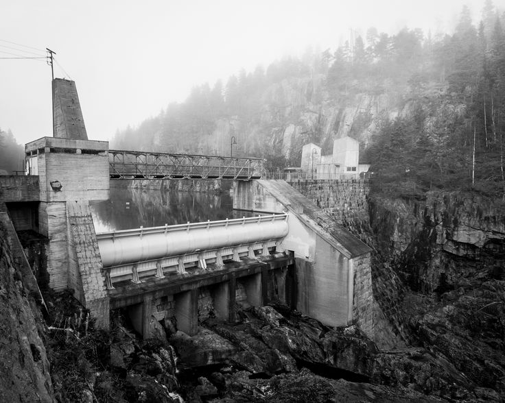 All sizes | Vrangfoss dam B&W | Flickr - Photo Sharing!