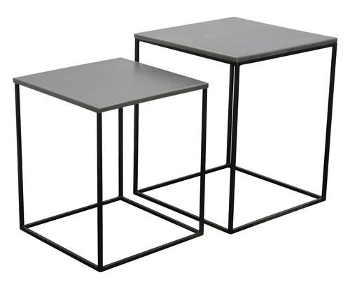 Set di 2 tavolini in metallo miles Colore melanzana  ad Euro 179.00 in #Opjet paris it #Furniture other furniture