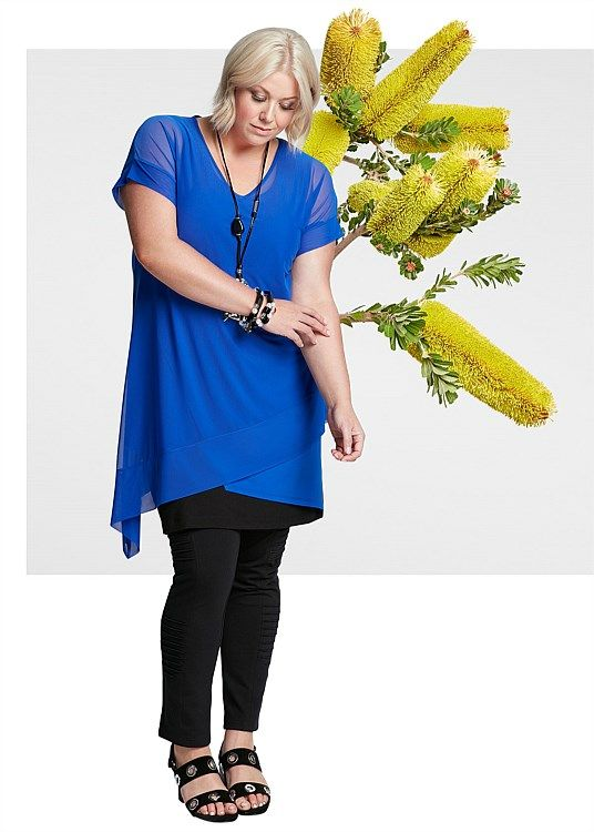 Every Little Thing Tunic #takingshape #plussize #curvy