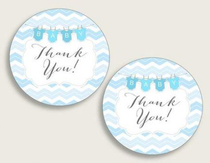 17+ Ideas For Baby Shower Boy Favors Thank You Tags