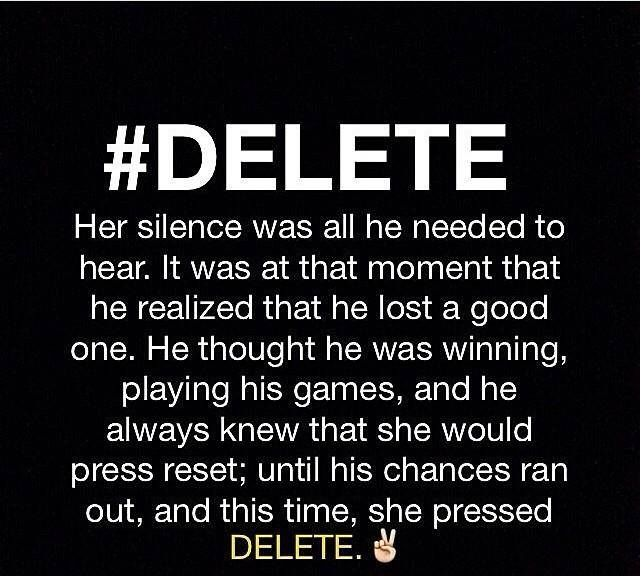Delete!!!!!!!!!!!! It is tough to get the guts to delete him, delete his facebook request, his snapchat and instagram requests, his text messages his phone number. But once you do you realize it was for the best