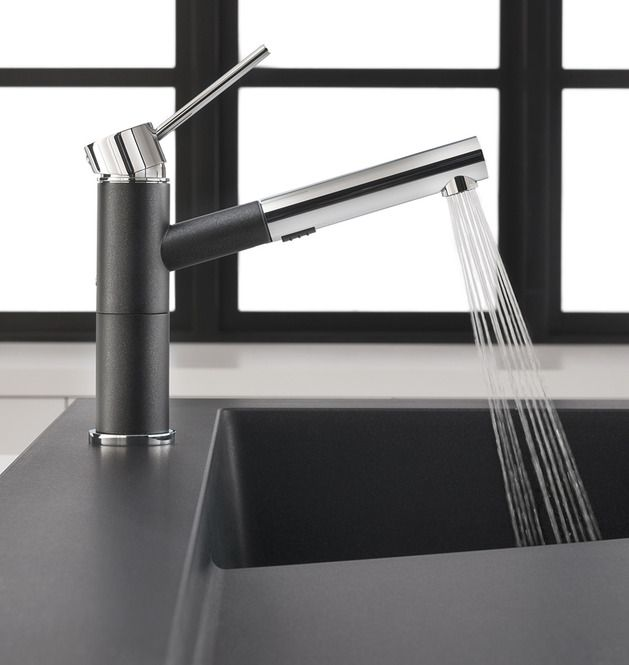 Raised Kitchen Sink Workstation with Dual Draining - Modex by Blanco