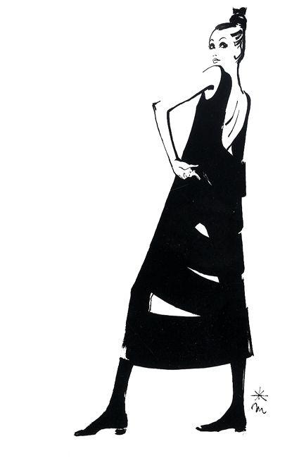 """死後も絶大な影響力…ファッションイラストの第一人者""""森本美由紀""""の色褪せない実力   by.S"""
