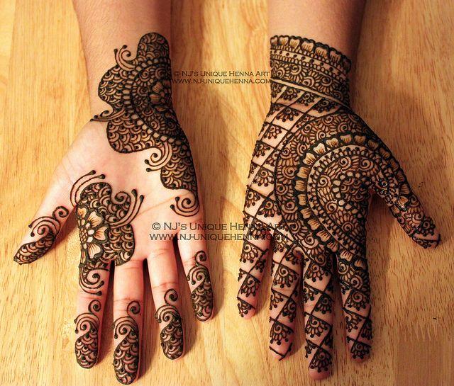Unique & Beautiful Henna / Mehndi Design