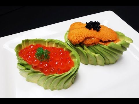 Exquisitely Prepared Uni and Ikura Sushi With A Twist - How To Make Sushi Series - YouTube
