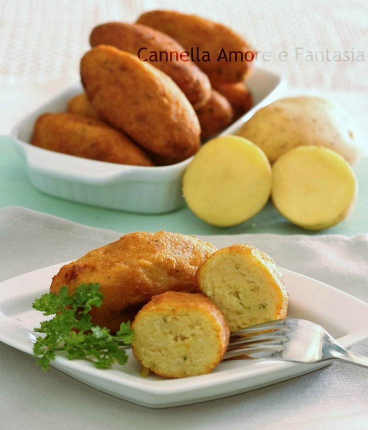 Crocchette di patate alla siciliana