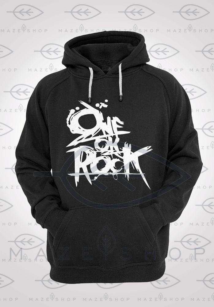 One Ok Rock Logo Hoodie The Gazette BabyMetal Visual Kei Gackt Sakura Gakuin SUG #Handmade #Hoodie
