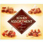 Roshen Assortment Elegant mix čokoládových bonbónov z mliečnej čokolády s náplňou 145 g
