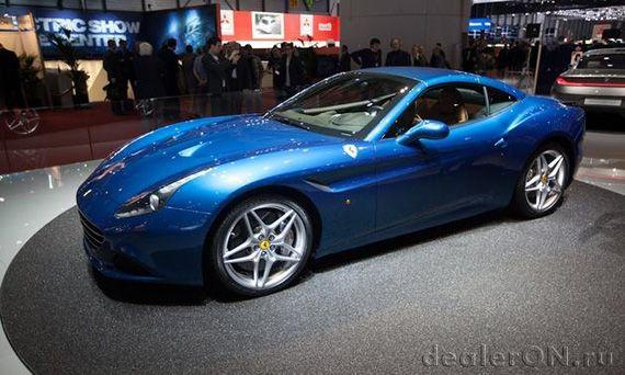 Суперкар Феррари Калифорния Т 2014 / Ferrari California T