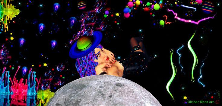 https://flic.kr/p/21jWqVn | Arte: The Colorful Universe of the Moon (O Universo colorido da Lua). ✨🌜 |             Arte: The Colorful Universe of the Moon (O Universo colorido da Lua). ✨🌜 Dia 09/11/2.017.