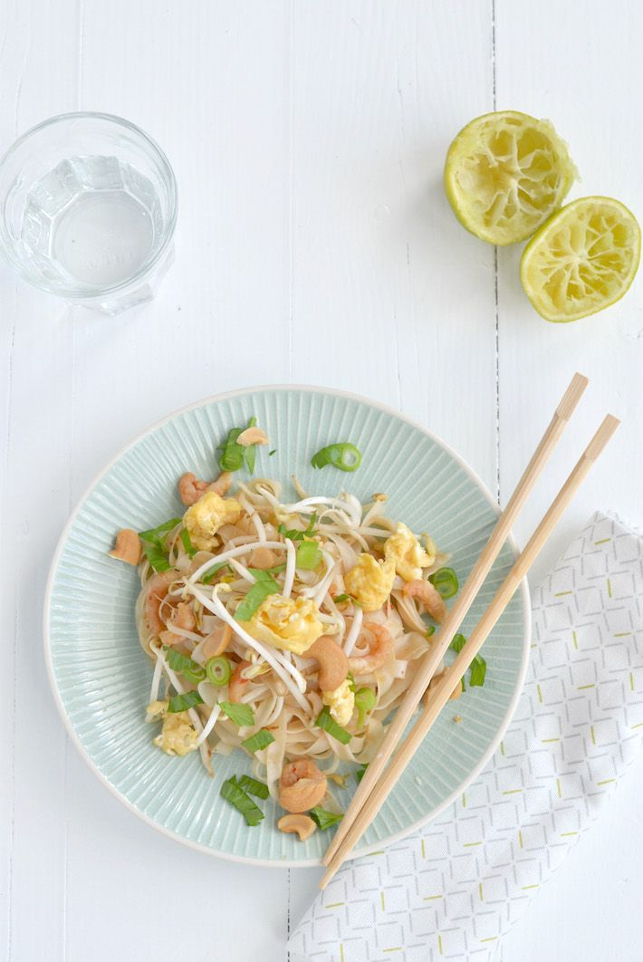Fresh & Easy: Pad Thai met garnalen