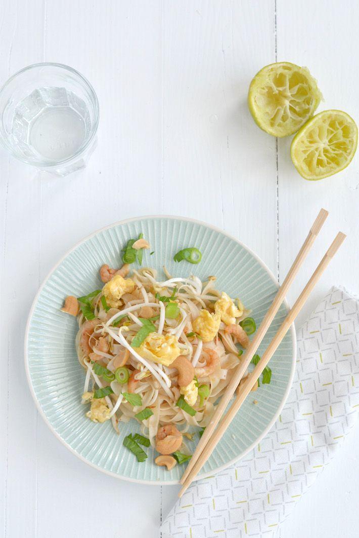 Fresh & Easy: Pad Thai met garnalen