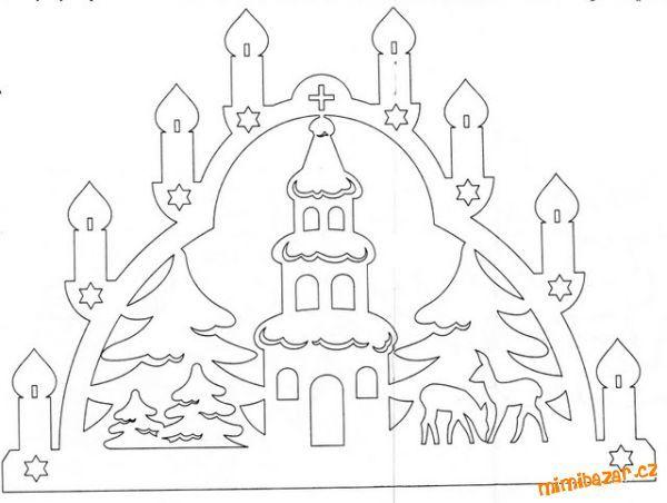 Bildresultat för vánoční papírová výzdoba do oken