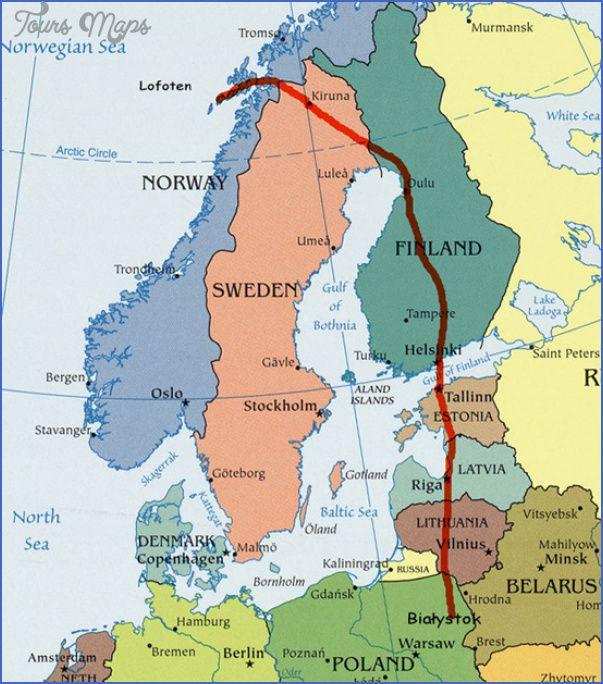 nice Narvik Norway Map