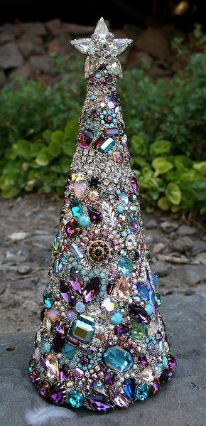 Splendido strass Vintage gioielli colorati di ASoulfulJourney More