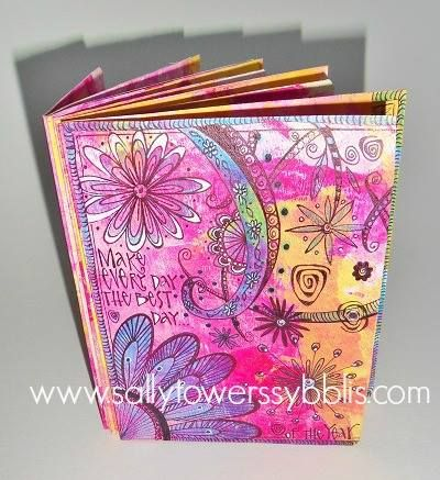You'll enjoy the process of creating thisamazing artful file folder journal. Using a simple file folder and some paints we will design ajournal perfect for filling with quotes or to give as a gift. A portion of our … Continued
