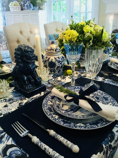 Beaux Mondes Designs Giving Thanks In Blue u0026 White · Thanksgiving CelebrationPlace SettingsTable SettingsCountry ChicFrench ... & 1897 best TABLE SETTING images on Pinterest | Tablescapes Harvest ...