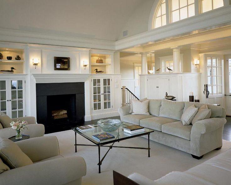 Beach House Living Room Love The Neutral Palette Built