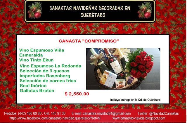 Canastas de Navidad Querétaro: CANASTA COMPROMISO