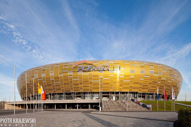 PGE Arena, Stadium in Gdansk   Poland © Piotr Krajewski pkrajewski.pl