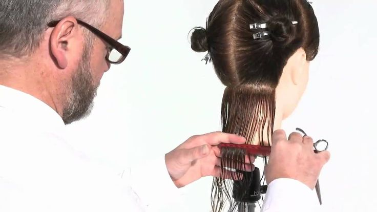 How to cut womens hair basic uniform layer haircut
