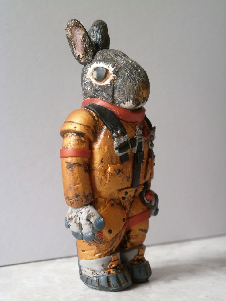 """Rabbit astronaut 