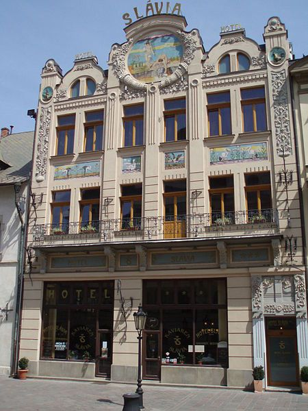 Slávia Hotel, Kosice