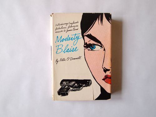 Modesty Blaise  by Peter O'Donnell 1st Ed 1965