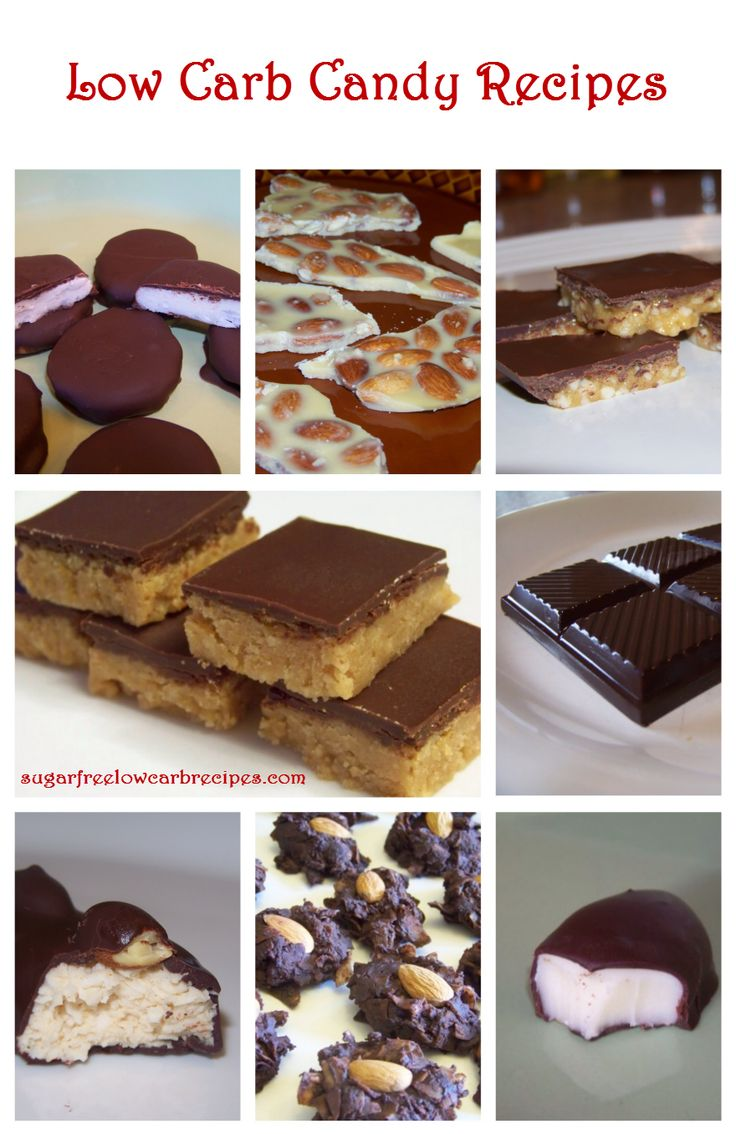 Homemade Low Carb Candy