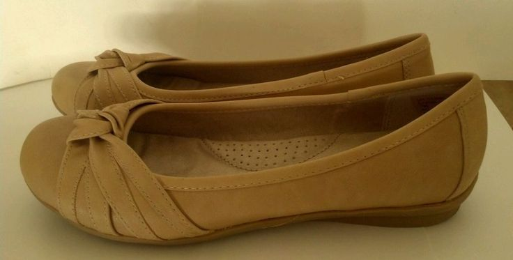 Women's Cliffs White Mountain Haiku Style Natural Beige Shoes Ballet Flats Sz 7M  | eBay