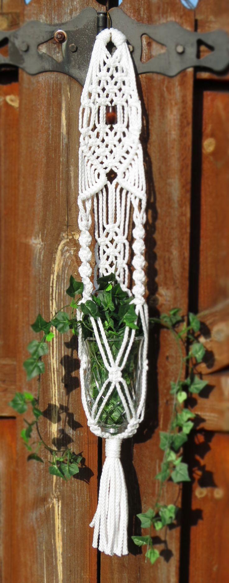 2268 best 70s home decor images on pinterest 1970s decor retro macrame plant hanger white plant holder wedding decor hanging planter bohemian pot holders modern pot hanger small plant hanger gift