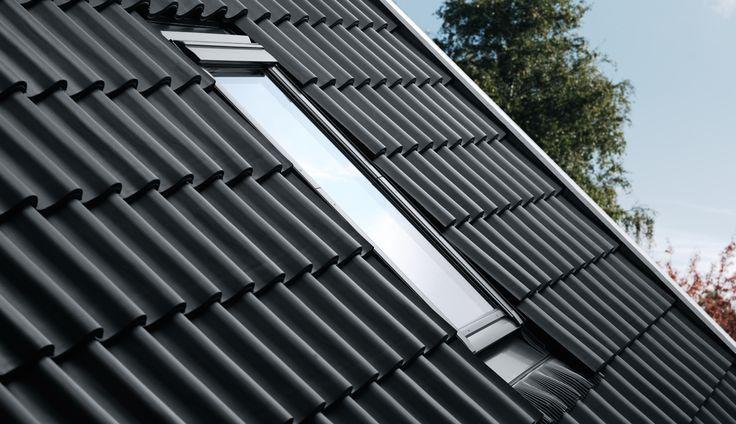 VELUX EDJ PK10 0000 Recessed Window Flashing for Tiles
