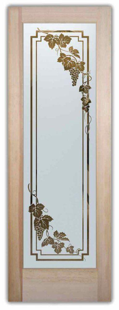 Cascade-Vineyard Grapes Negative Glass Doors