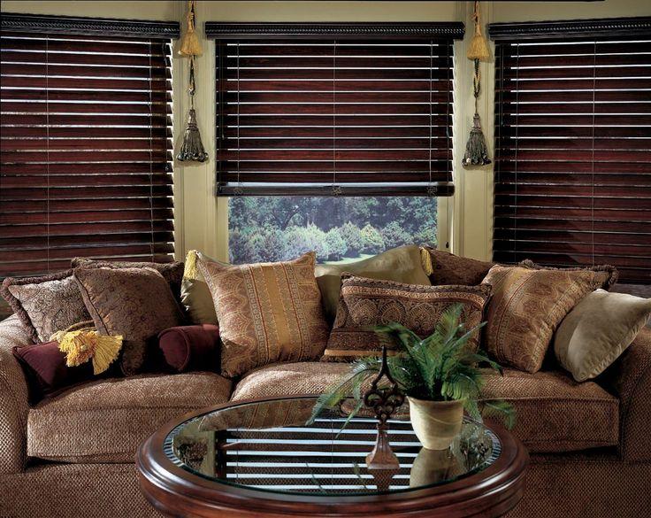 Remarkable Very Best Wood Blinds In Living Room Jj56 Roccommunity Interior Design Ideas Clesiryabchikinfo